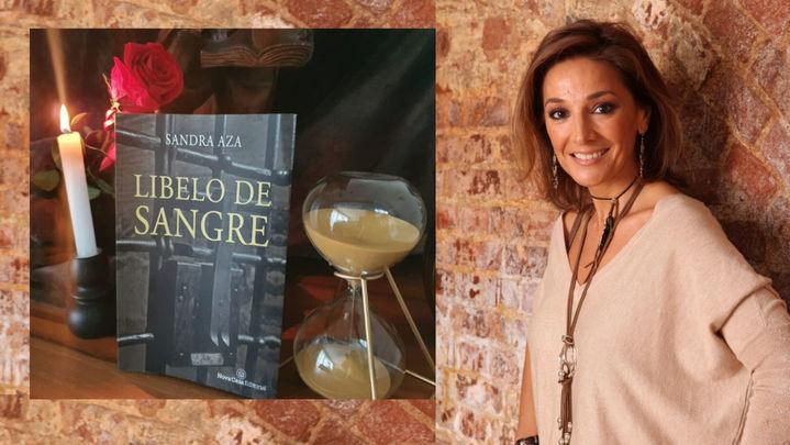 Sandra Aza nos presenta su novela 'Libelo  de Sangre', ambientada en el Siglo de Oro en Madrid