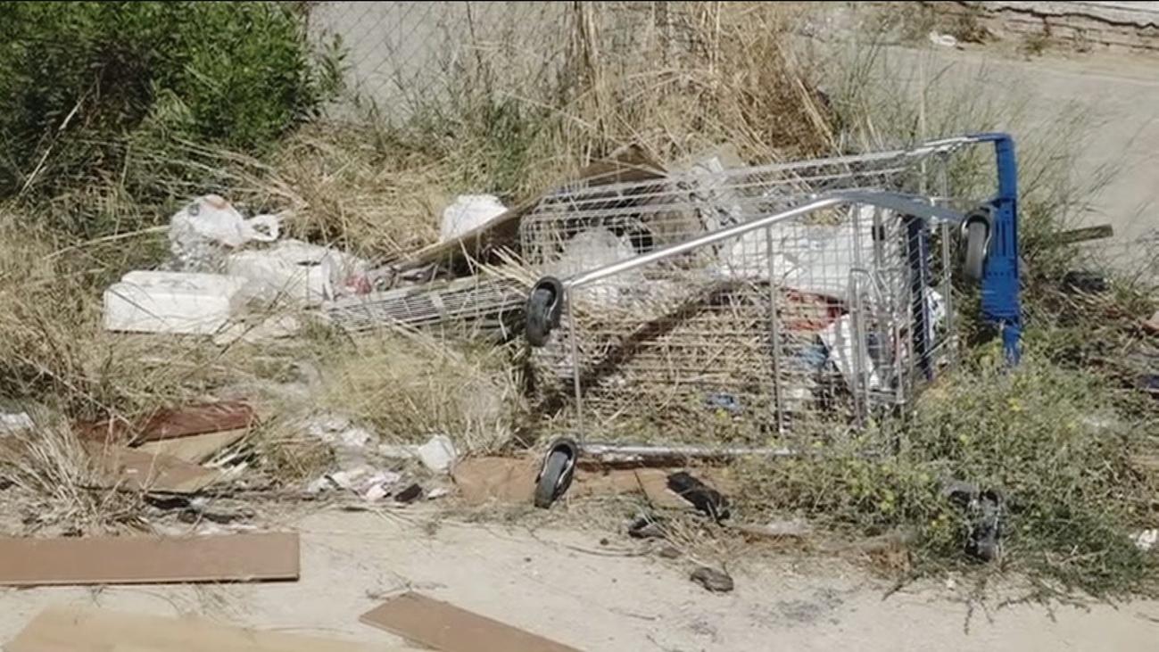 Incremento de basura en el barrio de la UVA, en Hortaleza