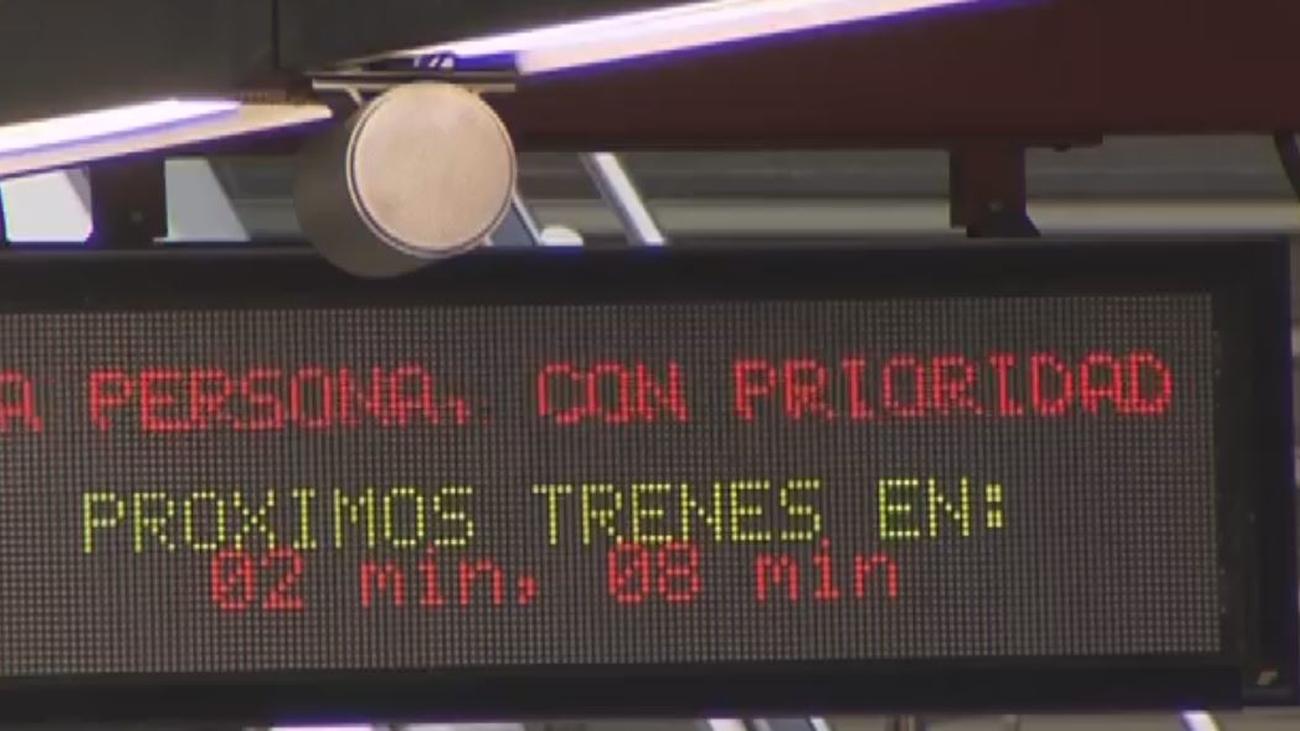 Aumentan las quejas en Metro de Madrid por los tiempos de espera en las estaciones del suburbano