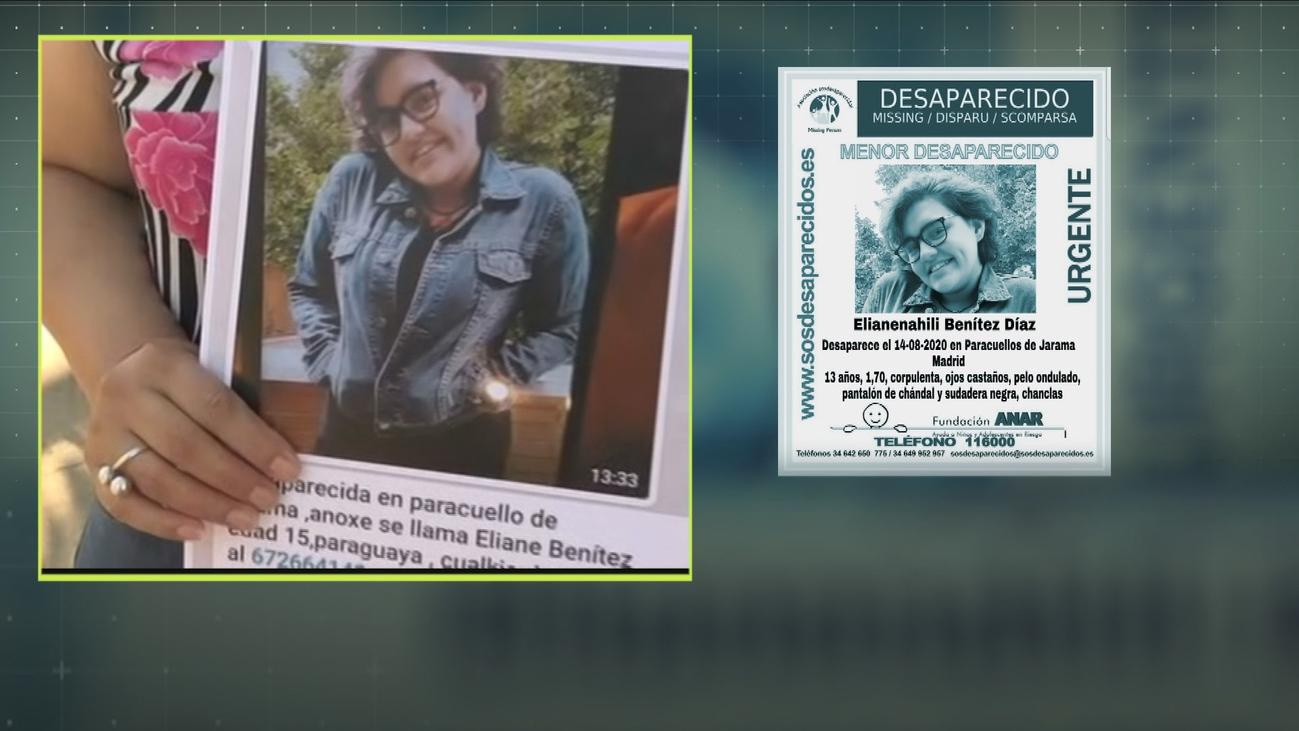 Aparece Elianne, la niña desaparecida de Paracuellos del Jarama