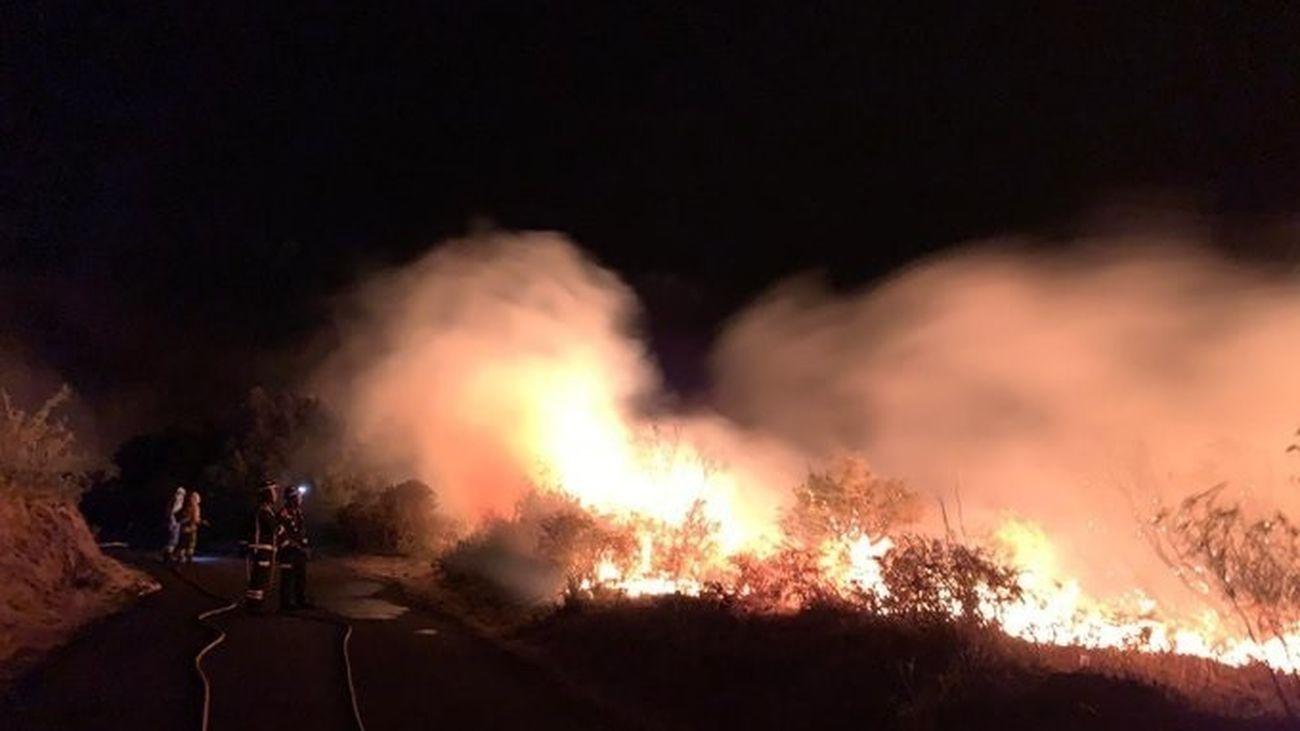 Incendio forestal de la Garafía, en La Palma