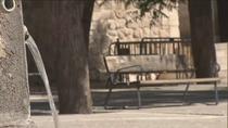 Primer día de 'confinamiento' en Tielmes con las calles desiertas