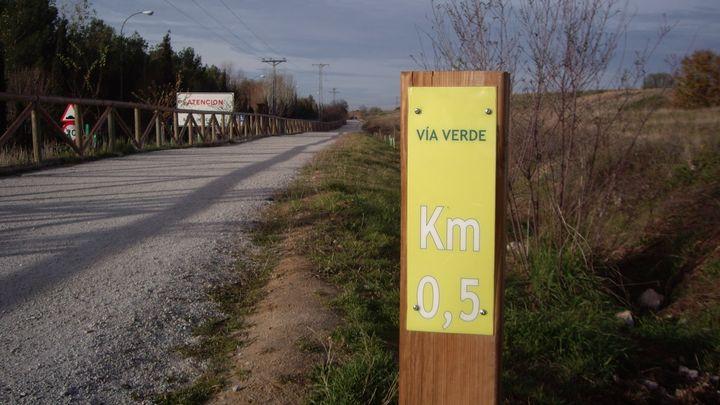 Vecinos de Leganés reivindican una vía verde