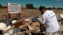 La indignación del 'azote de los vertederos', en el poblado de las Sabinas