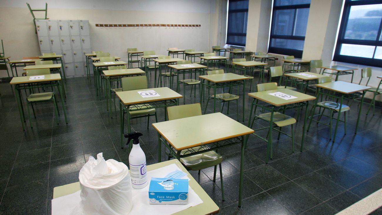 Ayuso presenta la estrategia para la vuelta  al colegio en la Comunidad de Madrid