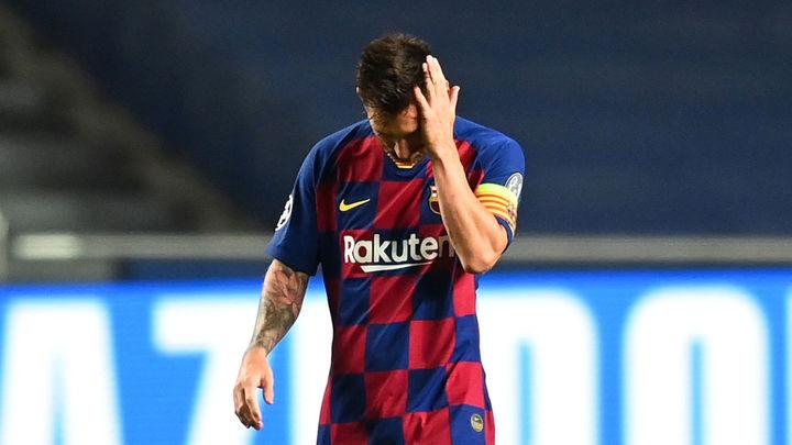 Shock en Barcelona, Messi se va del Barça
