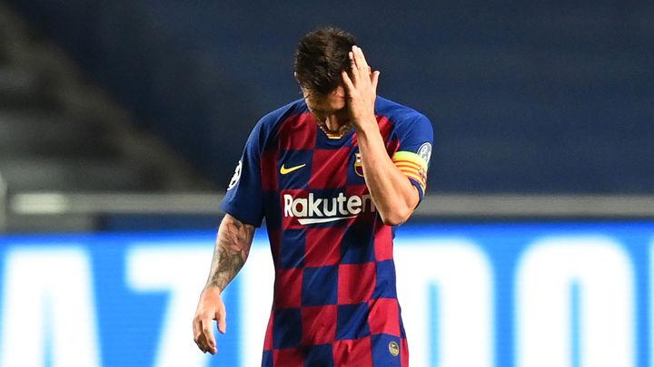 Messi comunica al Barça que quiere irse