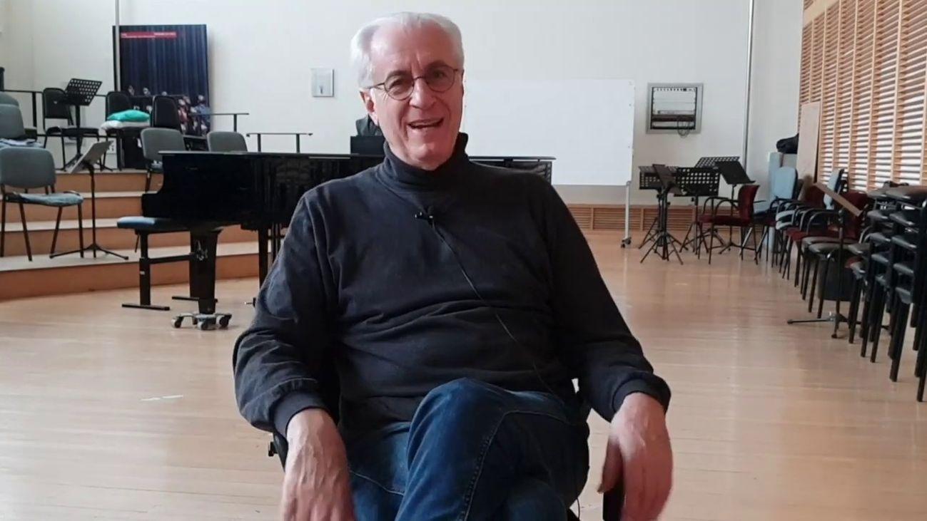 Andrés Máspero, director de Coro del Teatro Real
