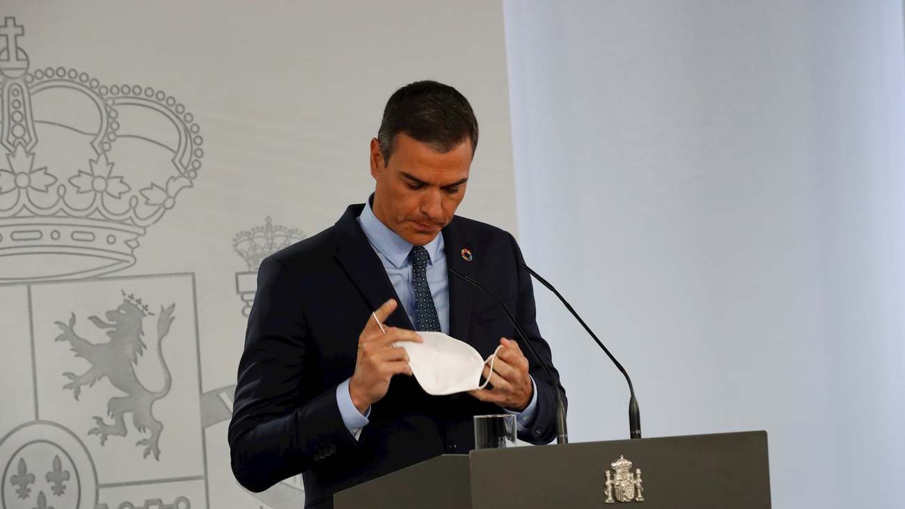 Pedro Sánchez confía en la 'cogobernanza' para frenar la curva de la pandemia