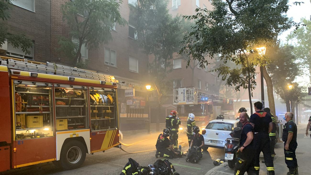 El incendio de Blasco de Garay pudo originarse por la inflamación de un pegamento