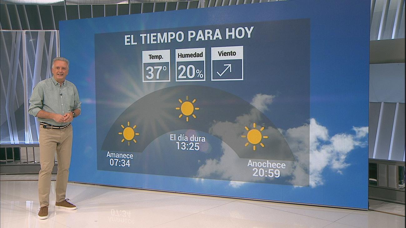 Nuevo aviso amarillo en Madrid con temperaturas de hasta 37 grados en la capital