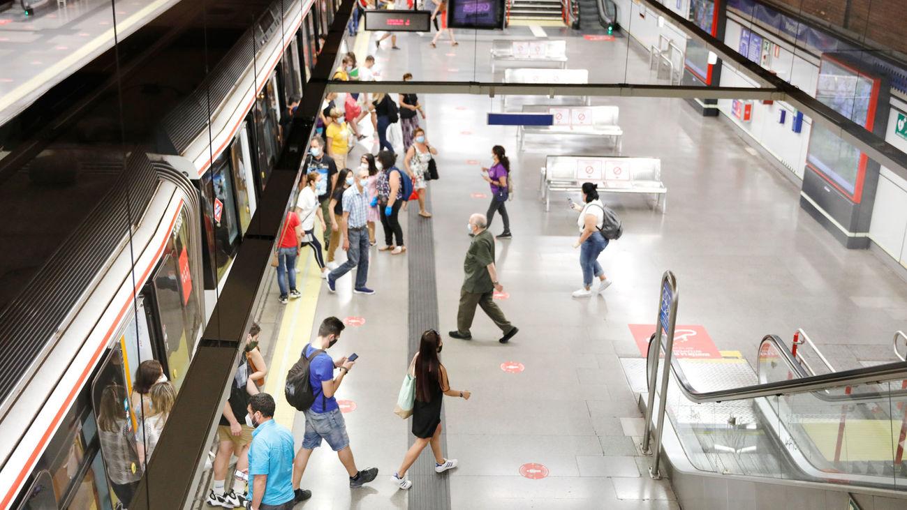 ¿Cuáles son las líneas de Metro dónde se producen más robos?