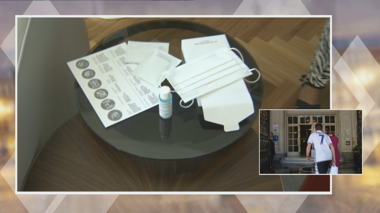 El Hotel Palace reabre sus puertas con nuevos protocolos de limpieza e higiene