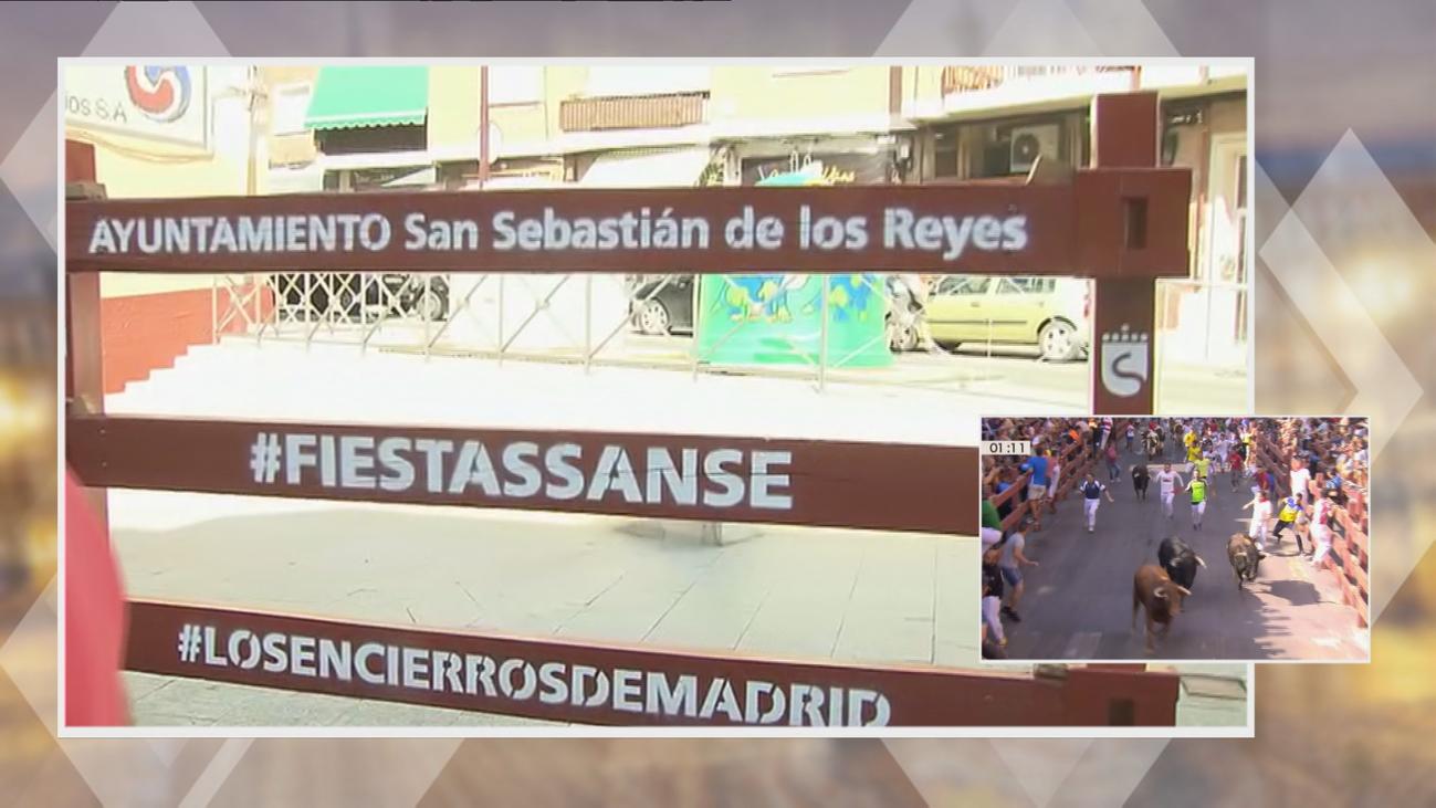 Resignación en San Sebastián de los Reyes, que este jueves celebraría el tradicional chupinazo