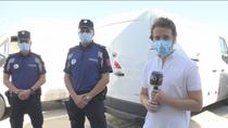 Detienen al culpable del accidente en la calle Alonso Cano de Madrid