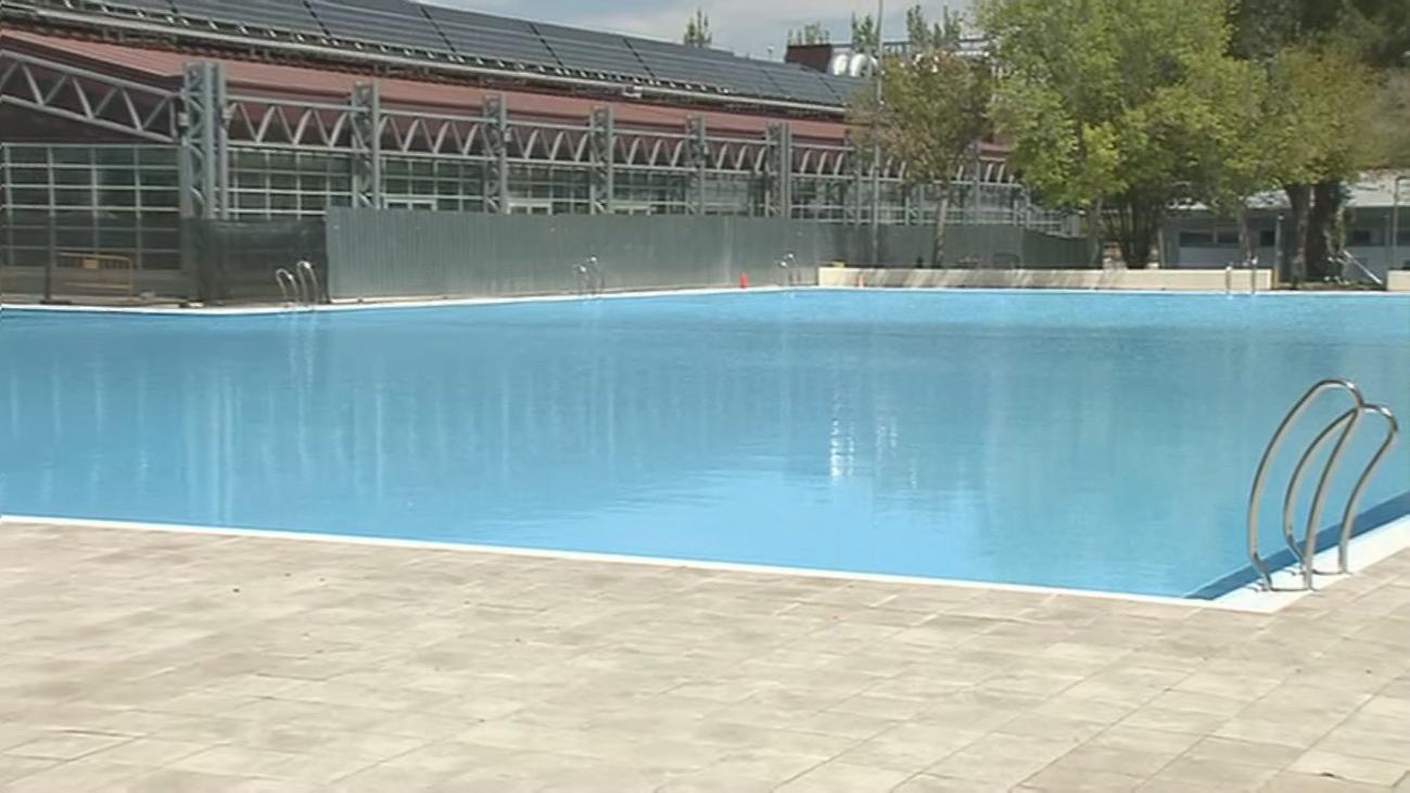 Adiós a las piscinas en un fin de semana otoñal en Madrid