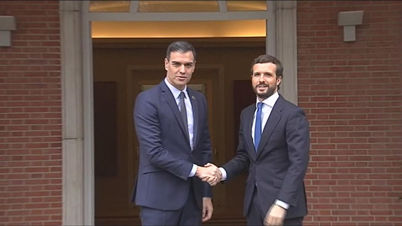 Pedro Sánchez presiona a Casado para que apoye los Presupuestos Generales del Estado