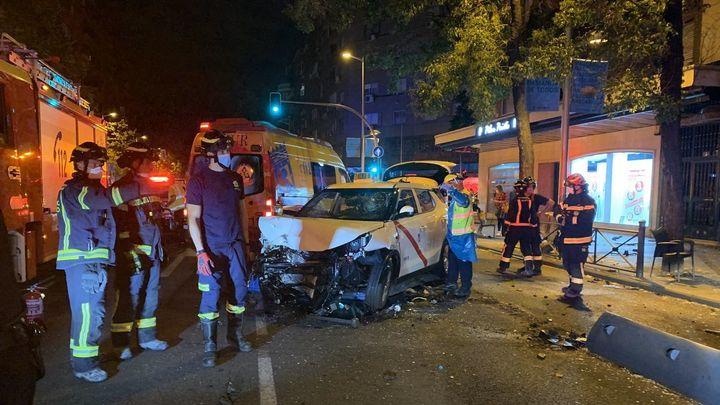 Un atropello múltiple en Bravo Murillo deja un fallecido y a siete personas heridas, dos de ellas graves
