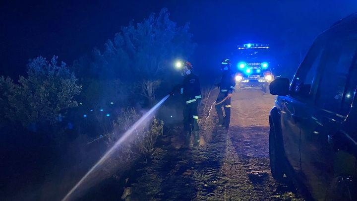 Extinguido el  incendio forestal que ha arrasado 16 hectáreas en Robledo de Chavela