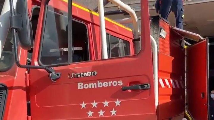 Madrid envía un equipo de respuesta inmediata al incendio forestal que arrasa Cáceres
