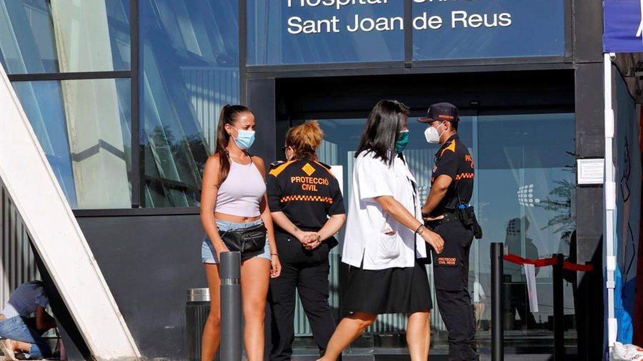 Aumentan los casos positivos en Cataluña