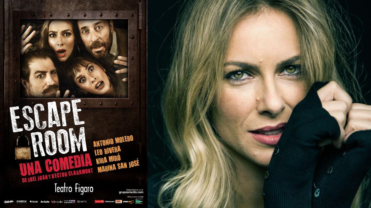Kira Miró protagoniza 'Escape Room' en el Teatro Fígaro