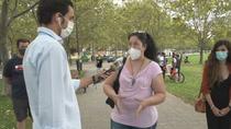 En contra de llevar a sus hijos al colegio por la pandemia