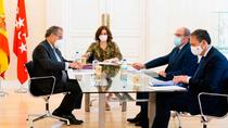 Ayuso detalla a PSOE y Vox el plan para el comienzo de curso