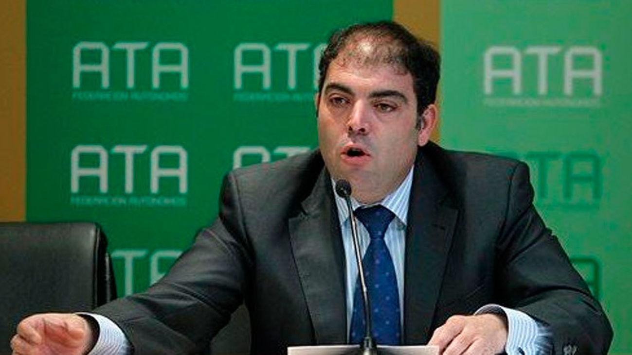Lorenzo Amor, presidente de la Asociación de Trabajadores Autónomos (ATA)