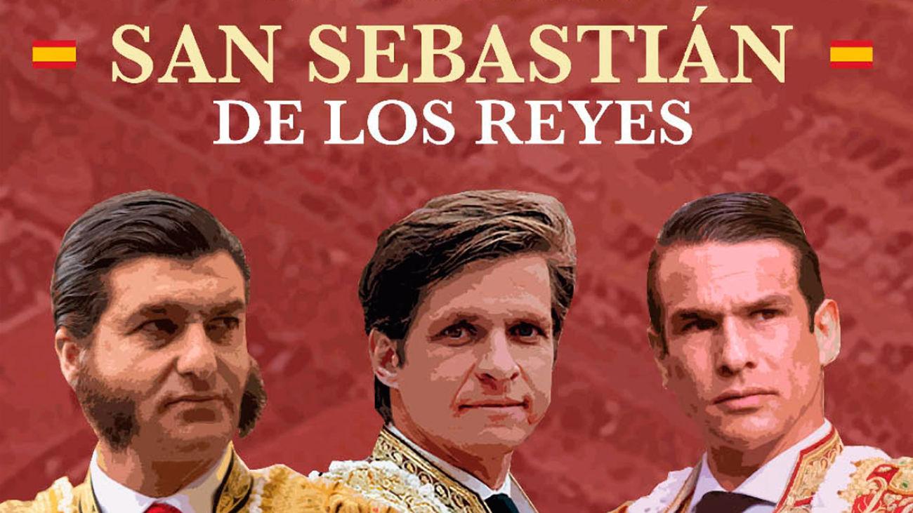El cartel previsto para este sábado en San Sebastián de los Reyes: Morante de la Puebla, José María Manzanares y 'El Juli'