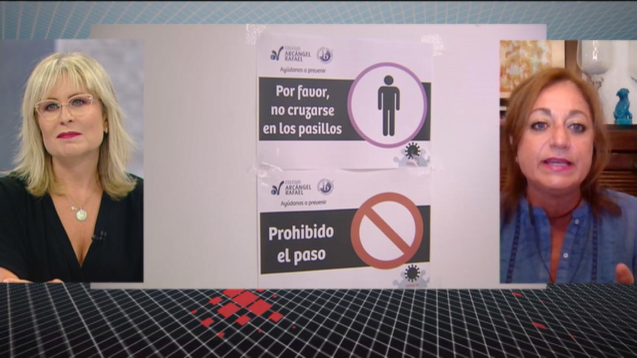 """Rocío Ramos, psicóloga infantil: """"El enfado de padres y profesores es por la falta de previsión"""""""