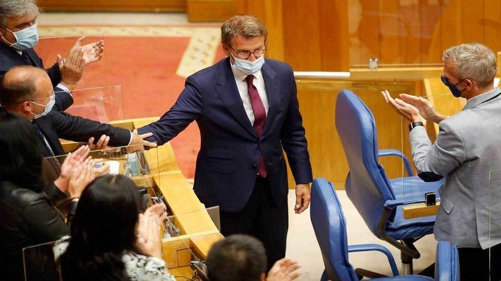 Feijóo investido por cuarta vez como presidente de la Xunta de Galicia