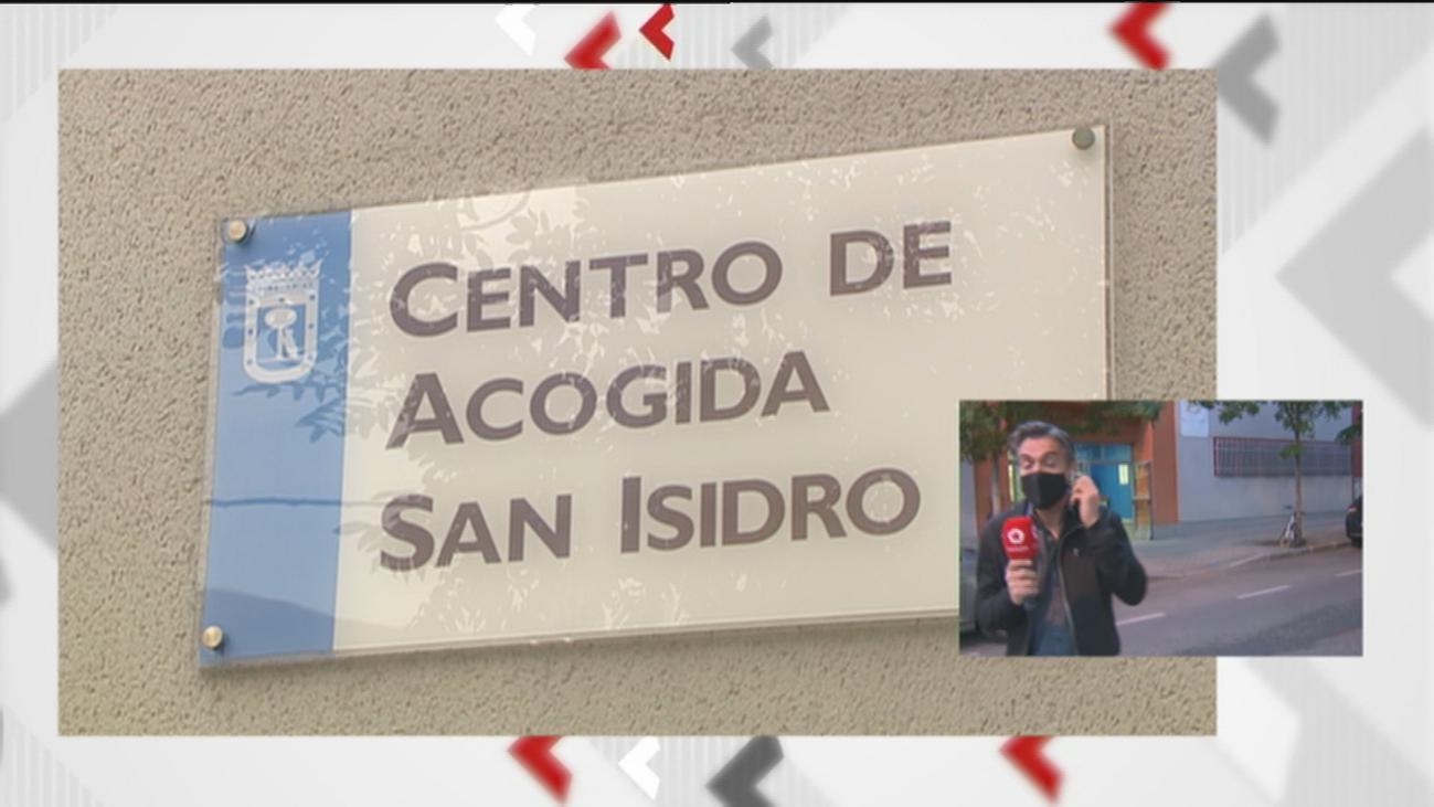 El albergue para los 'sin techo' de San Isidro registra un brote de Covid con más de 30 positivos