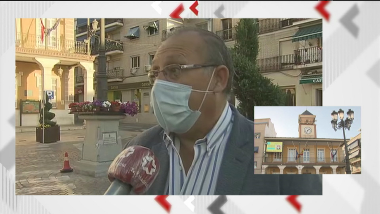 """El alcalde de Morata: """"Es más fácil actuar sobre los núcleos privados de reunión y controlarlos"""""""