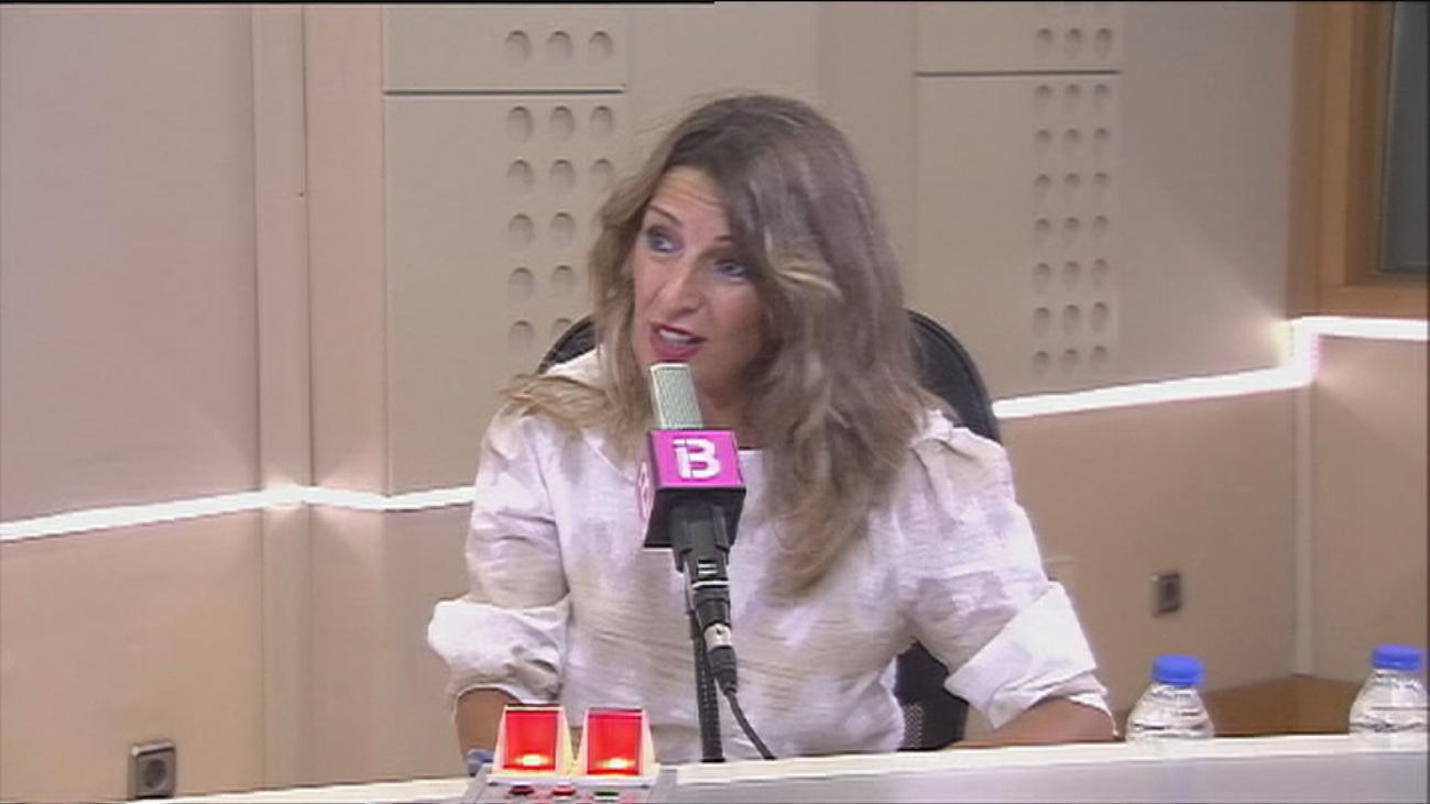 """Díaz aboga por extender los ERTE por rebrote """"hasta cuando sea necesario"""""""