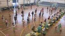 Realizados este jueves 12.000 test a los profesores madrileños en una jornada con normalidad y colas rápidas