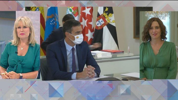 """Díaz Ayuso: """" Madrid es muy vulnerable ante la Covid, como todas las capitales europeas"""""""