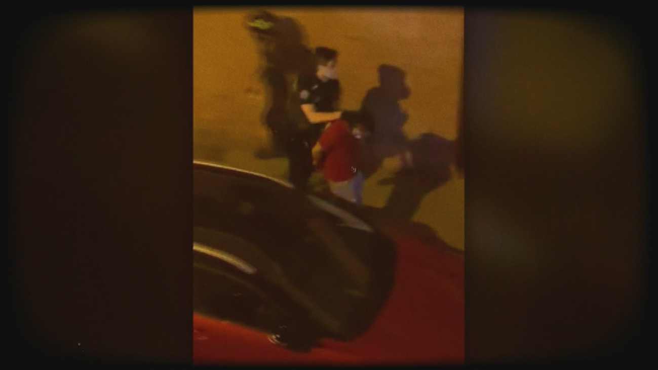 Policía y bomberos impiden una ocupación en el barrio de Ciudad Lineal