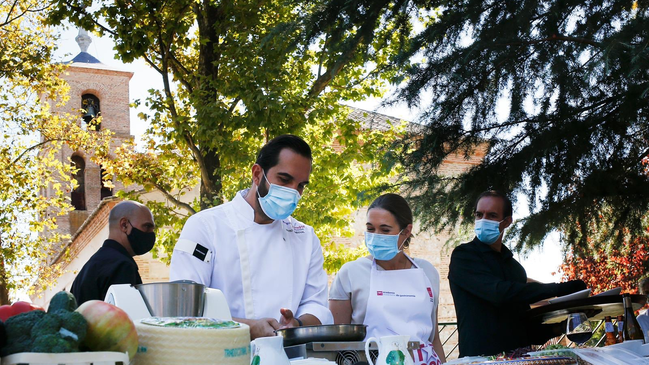 Siete cocineros llevarán sus 'tapas' por sendas comarcas de Madrid