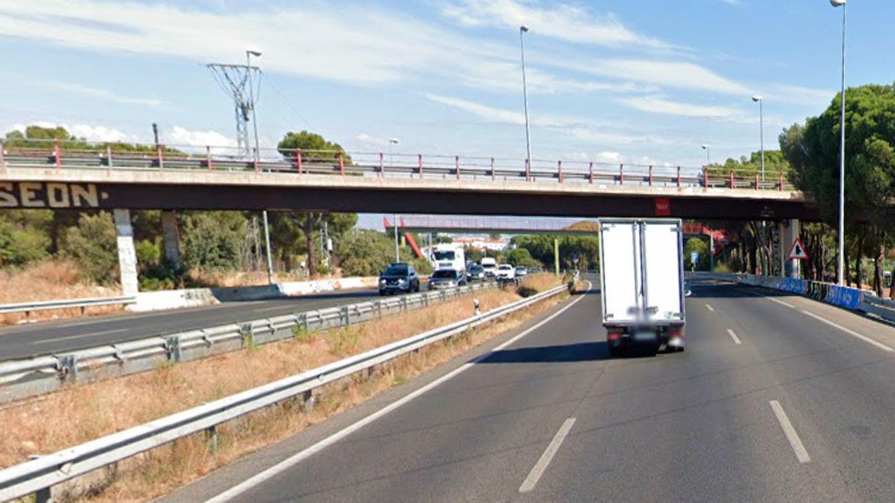 Puente de la M-607 en Tres Cantos