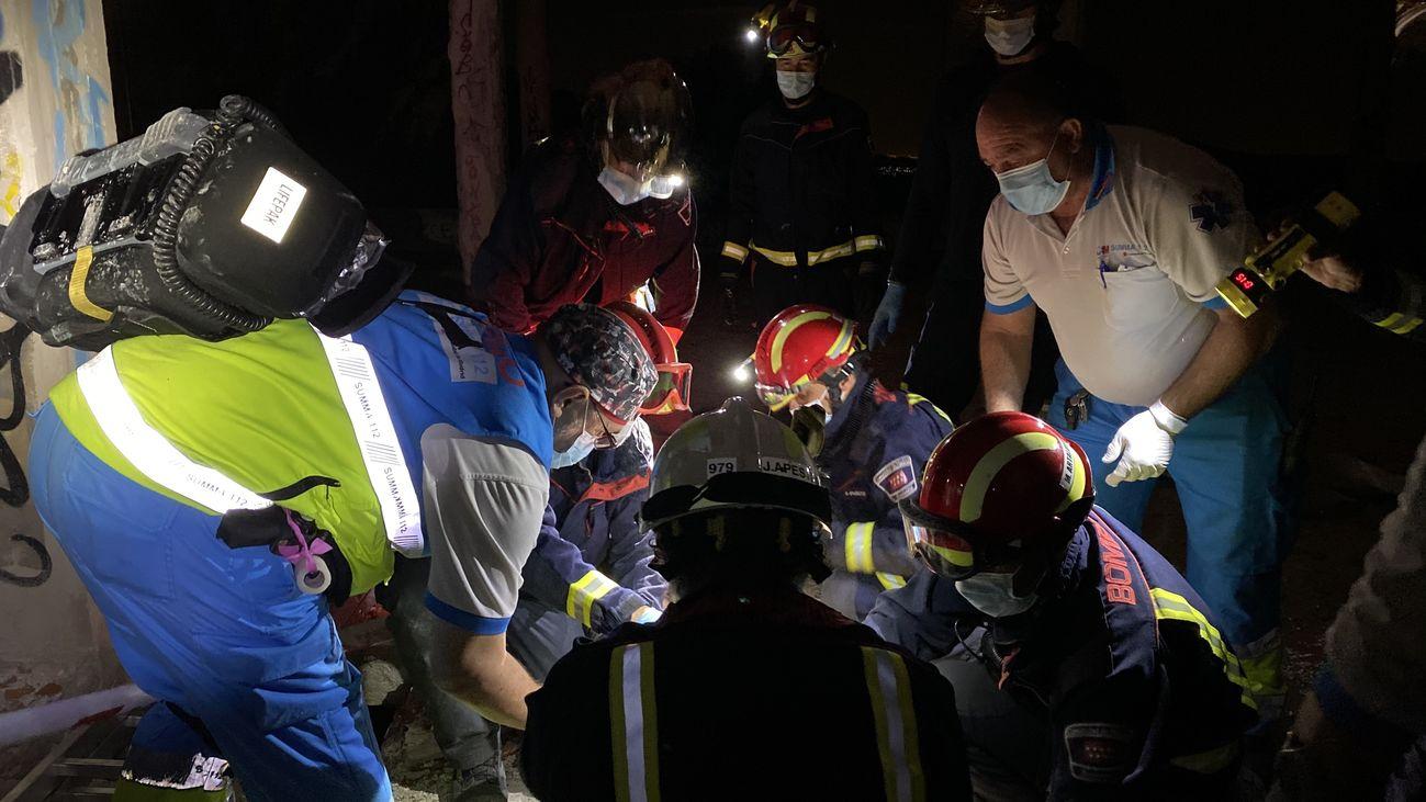 Un joven resulta herido grave tras sufrir una caída en Navacerrada