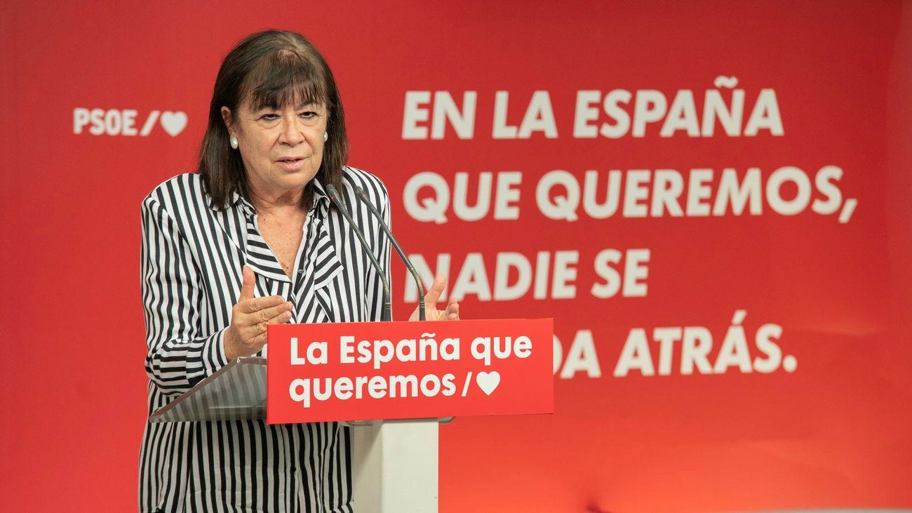 """El PSOE ve """"posible"""" el """"entendimiento con todas las fuerzas políticas"""" para aprobar los presupuestos"""