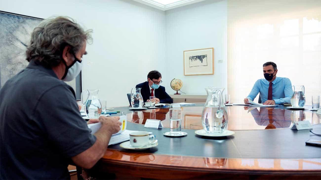 Pedro Sánchez preside el Comité Nacional de Seguimiento del Covid