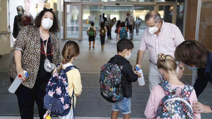 """Luis Sacristán, director de un colegio concertado: """"El problema va a ser cuando comiencen los contagios"""""""