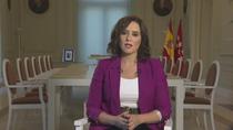 """Ayuso pide a las familias que """"no tengan miedo"""" en la vuelta al cole en Madrid"""
