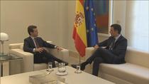 Sánchez culpa al PP de romper un acuerdo casi cerrado sobre el CGPJ y Casado señala a Podemos