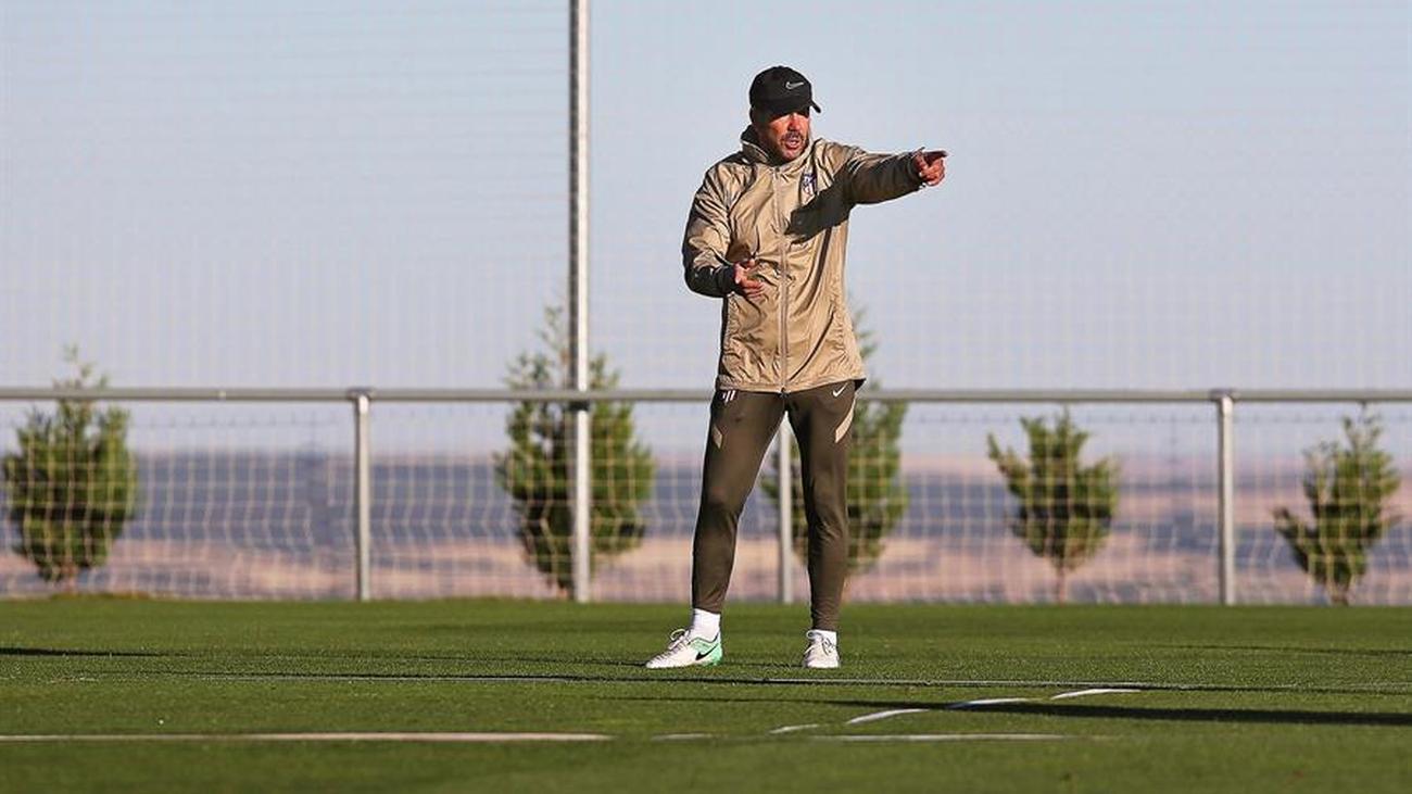 El Atlético vuelve a los entrenamientos