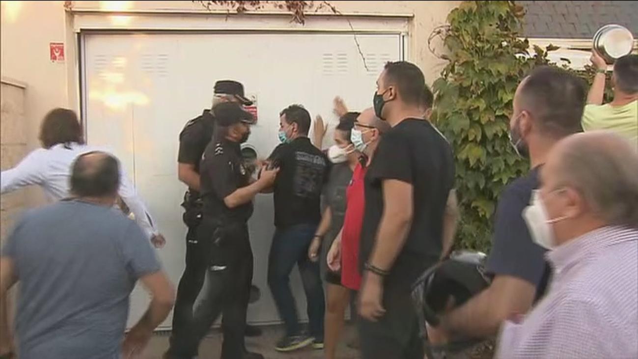 Vecinos de un barrio de Aranjuez consiguen echar a unos okupas