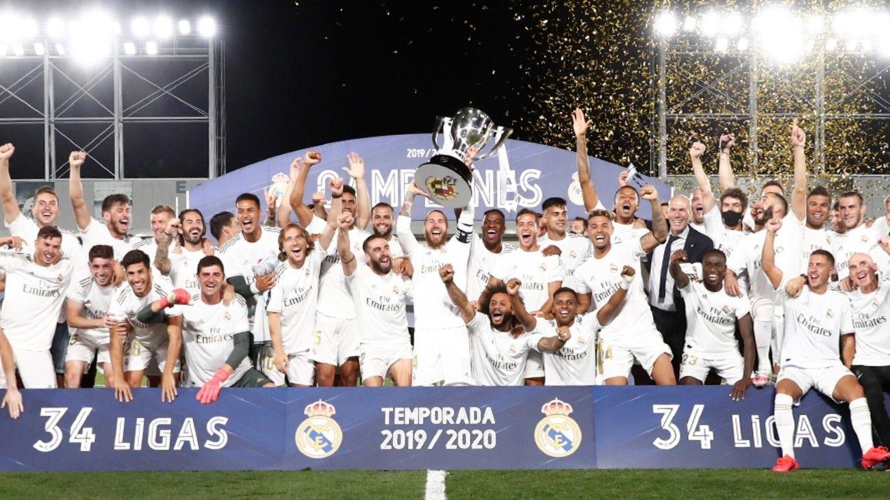 Real Madrid, campeón de Liga