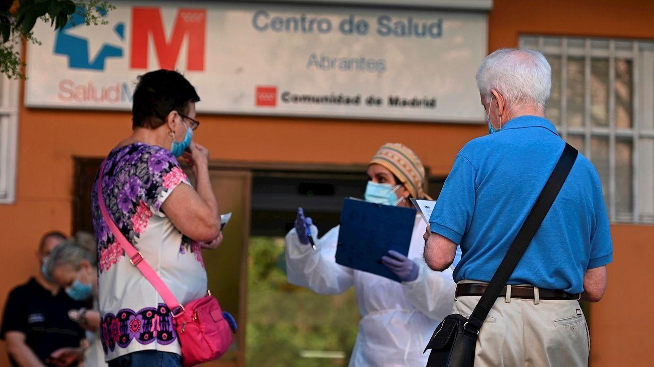 Centro de Salud Abrantes, en Carabanchel
